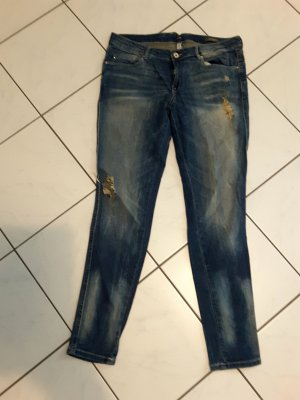 Jeans, used look, Mango Gr. 42