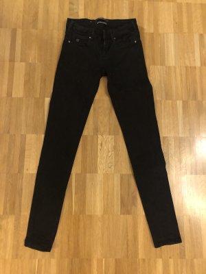 Jeans v. Maison Scotch in schwarz Gr. 25/32