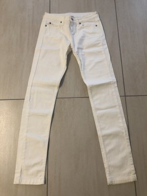 3 Suisses Jeansy rurki biały