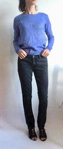 7 For All Mankind Jeans stretch gris anthracite-gris foncé