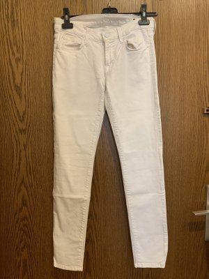 7 For All Mankind Jeans slim blanc