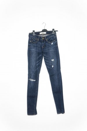Abercrombie & Fitch Slim jeans blauw-paars