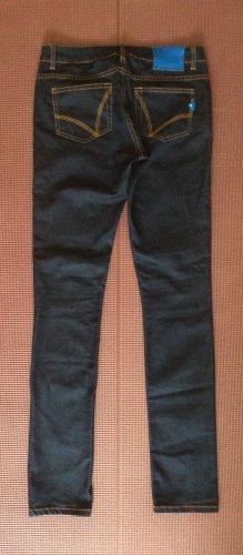 Adidas Originals Jeans slim bleu foncé