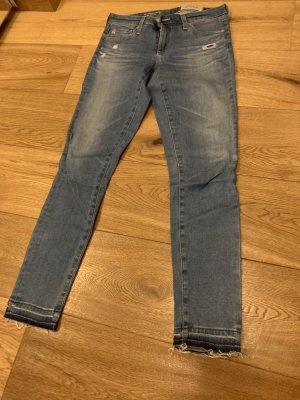 AG Jeans Skinny jeans azuur