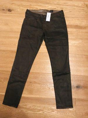 AG Jeans Skinny jeans zwart bruin