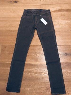 AG Jeans Skinny jeans zwart bruin-taupe