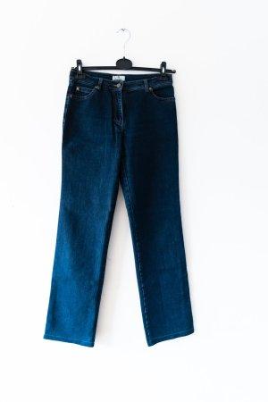 Aigner Straight Leg Jeans dark blue cotton