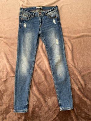 Alcott Jeans taille basse bleu foncé