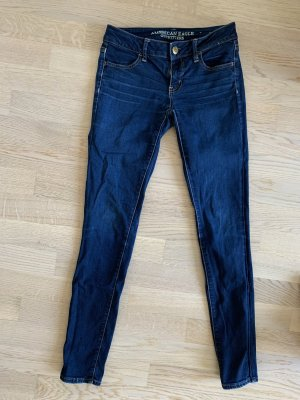 American Eagle Outfitters Jeans a sigaretta blu scuro