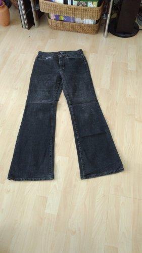 angels jeans Spodnie ze stretchu niebieski
