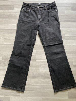Angels Jeansy o kroju boot cut ciemnoniebieski-czarny