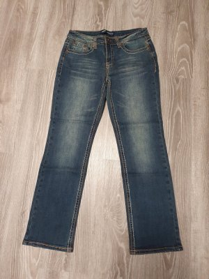 Arizona Jeansy o kroju boot cut niebieski