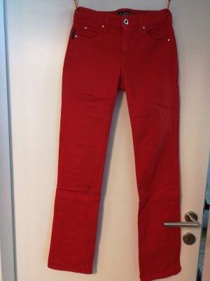 Armani Jeans coupe-droite rouge