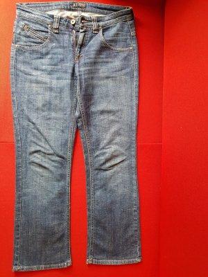 Armani Jeans Jeans coupe-droite bleu