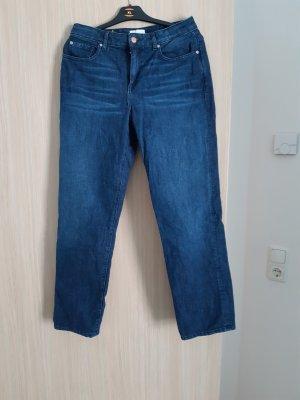 armedangels Straight Leg Jeans dark blue