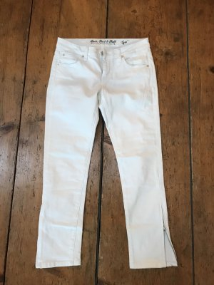 ATT Jeans Stretch Trousers white-silver-colored