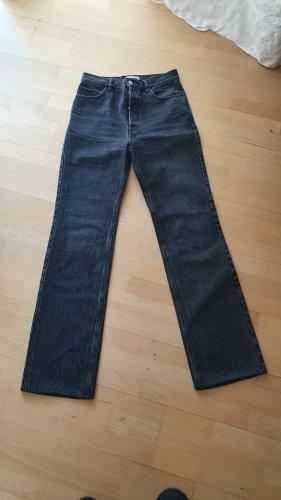 Balenciaga Jeans met rechte pijpen antraciet