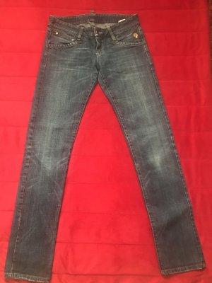 Belstaff Jeans taille basse bleu foncé-bleuet