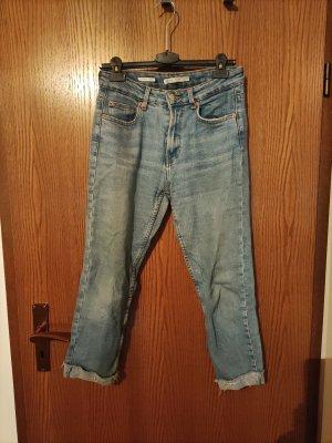 Bershka Mom-Jeans blue
