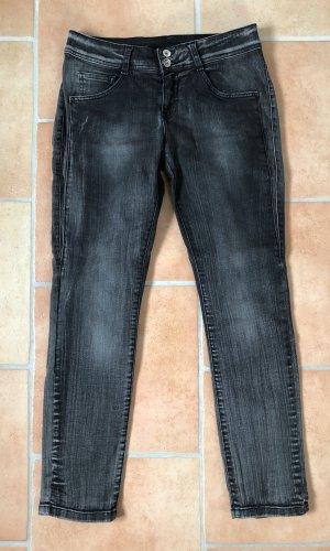 b.c. best connections Slim jeans donkergrijs