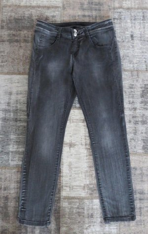 Best Connections Slim Jeans dark grey cotton
