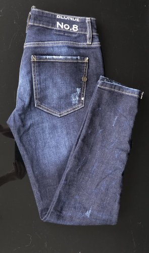 Blonde No. 8 Jeans slim fit blu scuro