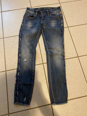 Blue Monkey 7/8 Length Jeans cornflower blue