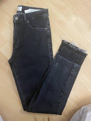 Boss Orange Jeans taille haute noir