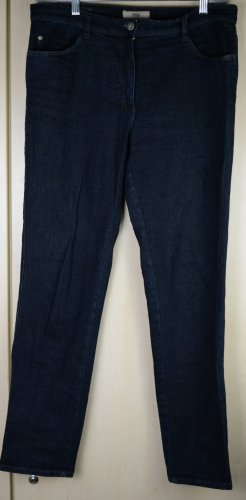 Brax feel Good Jeans coupe-droite bleu foncé coton