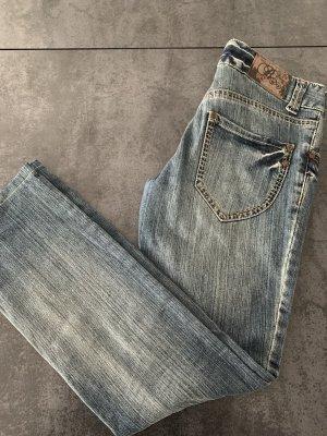 Broadway Tube jeans leigrijs