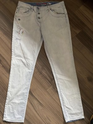 Buena Vista Tube jeans azuur-korenblauw