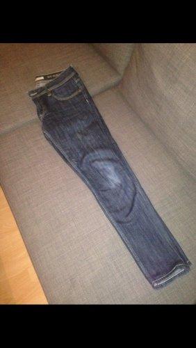 Burberry pantalón de cintura baja azul