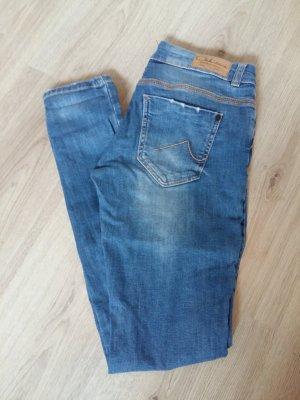 C&A Jeansy o obcisłym kroju niebieski-jasnoniebieski