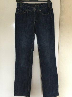 Cambio Jeans stretch bleu foncé coton