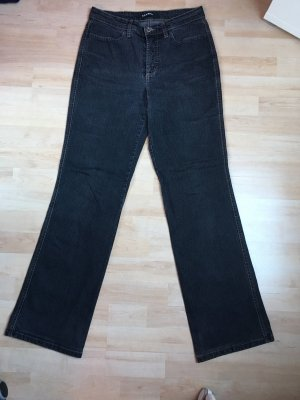 Cambio Jeans Pantalón de campana gris-gris oscuro