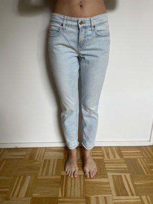 Cambio Jeans a sigaretta azzurro