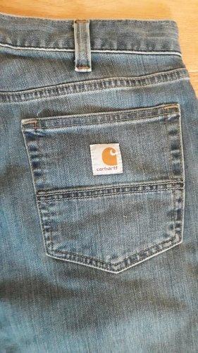 Carhartt Jeans coupe-droite bleu