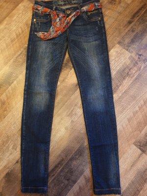 Cipo & Baxx Stretch Jeans blue