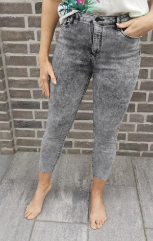 Clockhouse Hoge taille jeans zilver