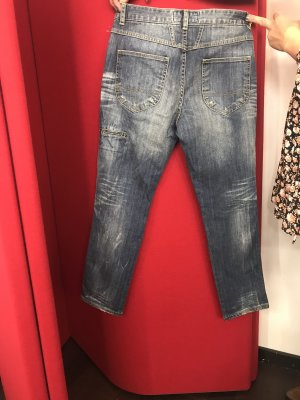 Closed Boyfriendbroek blauw