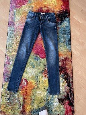 c.o.j Low Rise Jeans blue