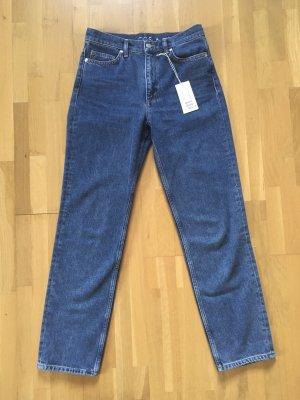 COS Jeans coupe-droite bleu