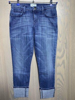 Jeans von Current/Elliott mit breitem Umschlag