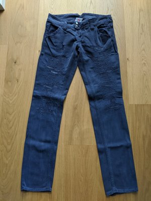 Cycle Jeans a gamba dritta multicolore