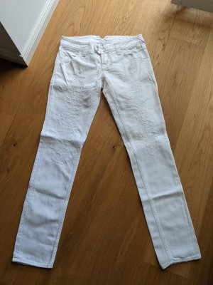 Cycle Straight Leg Jeans white
