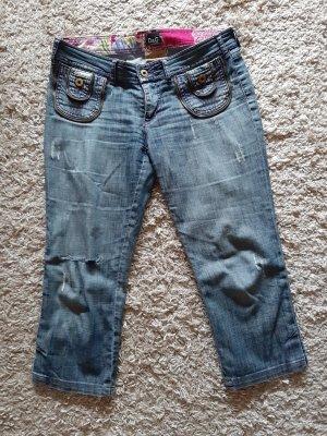 Dolce & Gabanna 3/4-jeans korenblauw