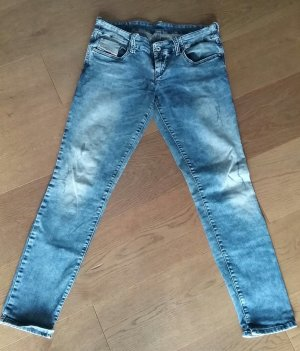 Diesel Skinny Jeans azure cotton