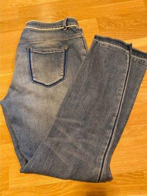 Dorothee Schumacher Jeans slim bleu pâle