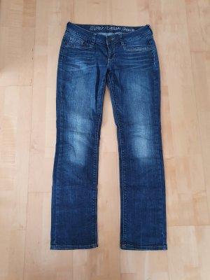 Esprit Straight Leg Jeans blue