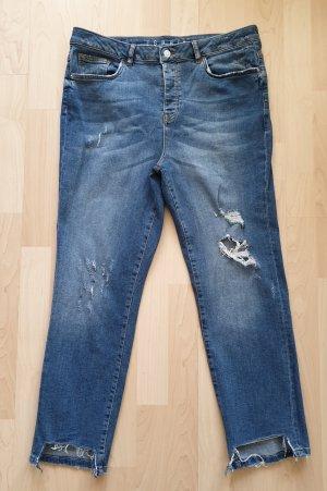 Jeans von Esprit * Gr.40  * blau - used * used Effekte * Fransen